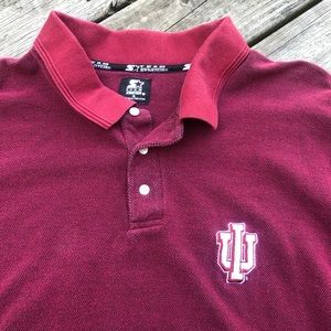 Vintage Indiana Hoosiers polo